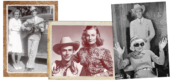 Hank Williams and Audrey Williams